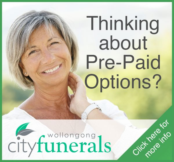 Wollongong City Funeral Pre Paid